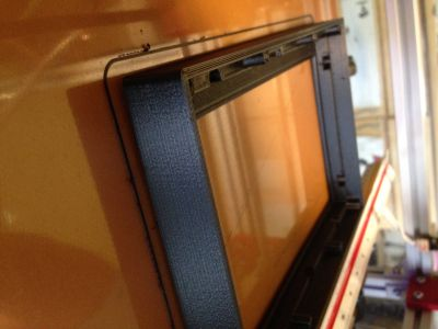 frame for 10 inches display on printbed